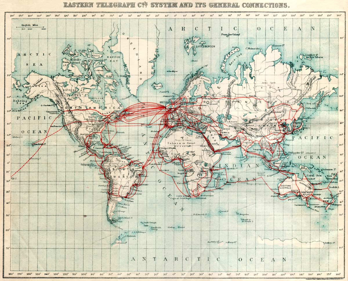 Old maps of undersea cables – Infomind – an info century blog