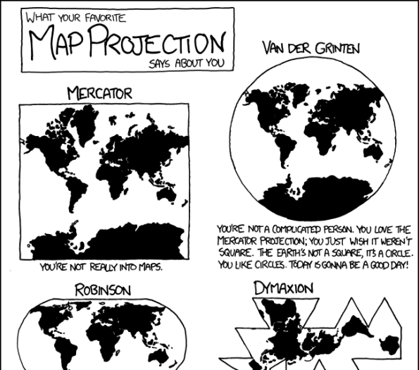 What your favourite map projection says about you