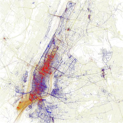 Eric Fischer: Mapmaker, artist and programmer