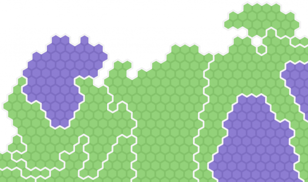 Creating a hexagonal cartogram