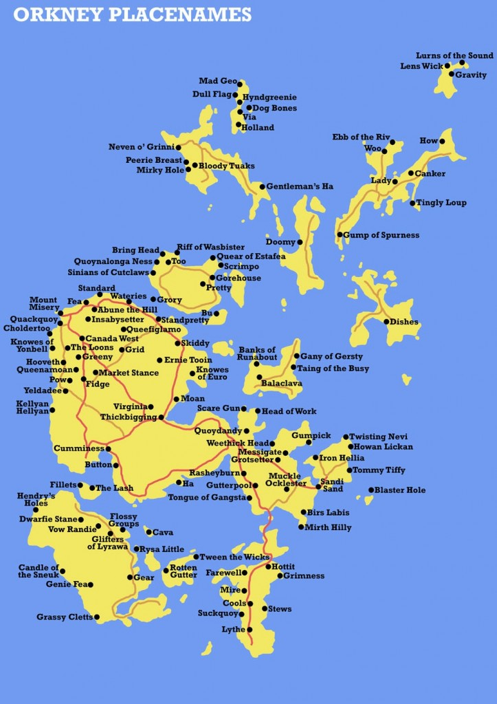 Orkney placenames (Source: Big Think)
