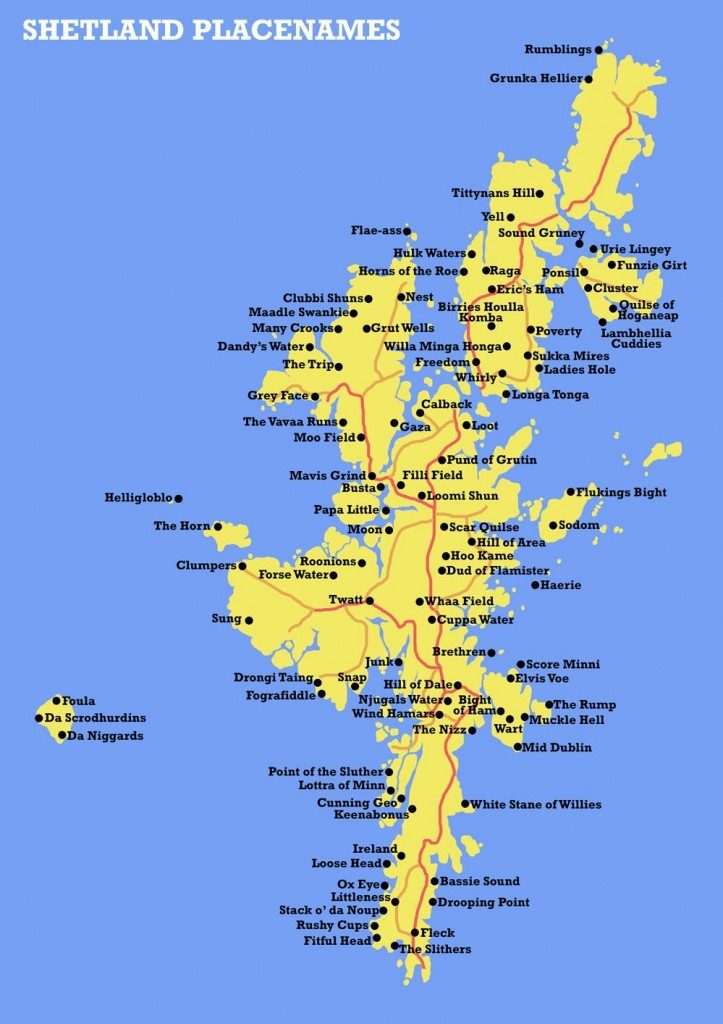 Shetland placenames (Source: Big Think)