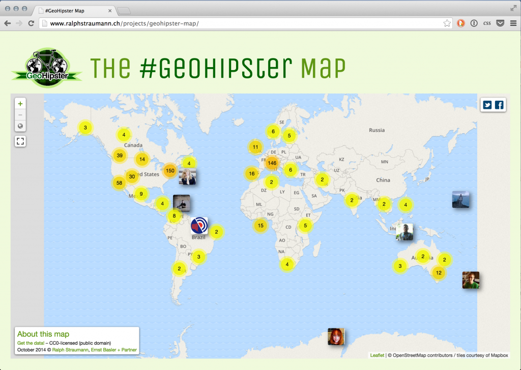 Geohipster Map