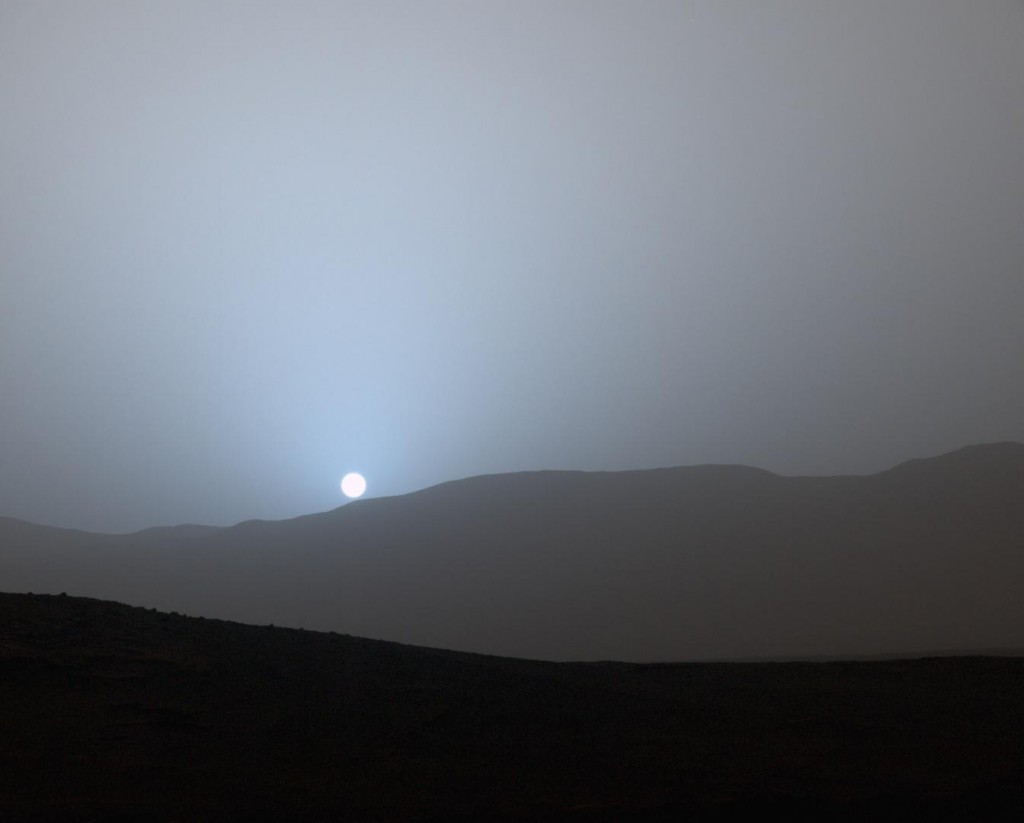 mars sunset rover - photo #16
