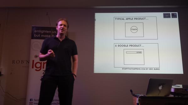 Ignite Zurich talk on Informational Magnetism